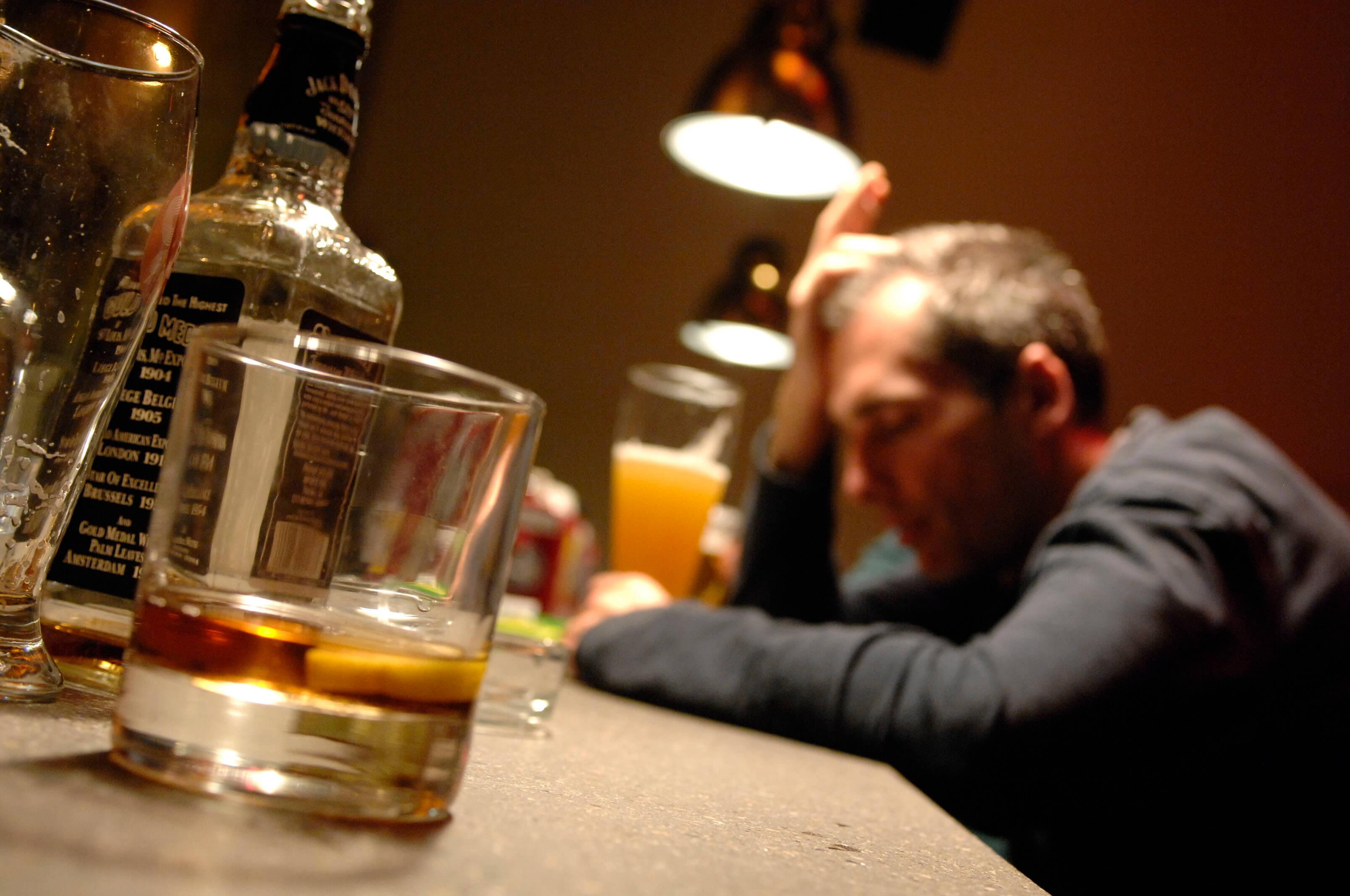 assunzione di sostanze alcoliche