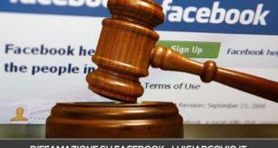 diffamazione su facebook cosa si rischia?